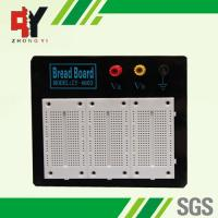 China Stainless Steel White Experimental Electronics Breadboard Black Alum Plate wholesale