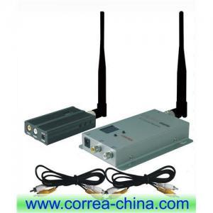 China 1.2GHz 2500mW wireless AV transmitter receiver wholesale