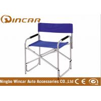 Quality vehicle Outdoor Camping Chairs , 600D folding chair for Lawn / Fishing / beach for sale