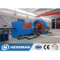 Buy cheap Marine Flexible Pipeline Framework Skeleton Layer Stainless Steel Tape Interlock Armouring Machine from wholesalers