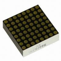 China 8 x 8 Dot-matrix LED Display, Available in Red/Green/Yellow/Blue, Suitable for Elevator Display wholesale