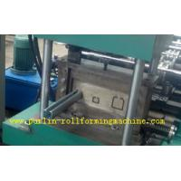 China Metal Stud And Track Roll Forming Machine , Steel Plate Rolling Forming Machines wholesale