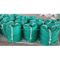 China 4 strand green color diameter 14mm 200m length per roll polypropylene/PP rope wholesale