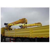 China Lorry Mounted Crane 6 wheels tadano 336 hp with XCMG crane ISO / CCC / BV wholesale