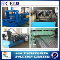 China Electric Cable Tray Roll Forming Machine 10 - 15m / Min Production Capacity wholesale