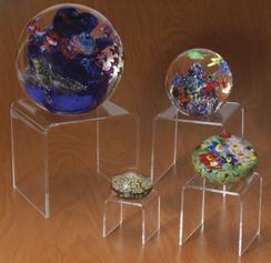 China Acrylic Riser Acrylic Displays With Customer's Logo wholesale