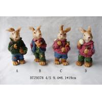 China Polyresin rabbit, resin animals wholesale