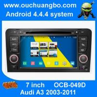 Quality Ouchuangbo S160 Audi A3 GPS radio stereo navi support 3G WIFI BT phone book android 4.4 OS for sale