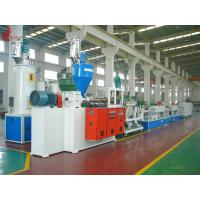 China Hydraulic net changer PET Strap Production Line 150KW 60 - 70kg/h on sale