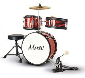 China Promotion Sound Percussion Junior Drum Set , 3 Piece Muse Drum Set Z343S-801 wholesale
