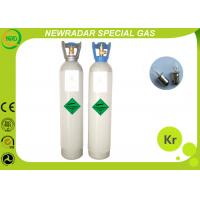 China Safety Odorless Krypton Noble Gas / Monatomic Gas UN1056 High Purity on sale