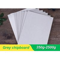 China Both Side Grey Chipboard Paper Laminated Chipboard Sheets Folding Resistance wholesale