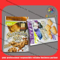 China PET / AL / PE  Food Grade Mylar Snack Bag Packaging With Customized Printing wholesale