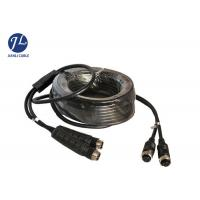 Quality Waterproof Car Side View A/V System 4PIN Aviation Cable Male To Female for sale