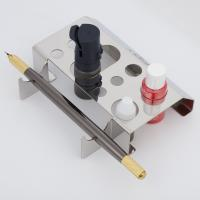 China Stainless Steel Permanent Makeup Ink Cup Holder / Tattoo Pen Holder on sale