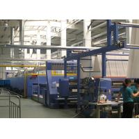 China Open width knits Hot air stenter machine , tension free , simple maintenance on sale