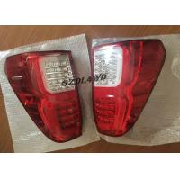 China Red & Smoke LED Tail Lights 4x4 Driving Lights For Toyota Hilux Revo SR5 2015 - 2017 wholesale