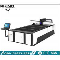 China Raycus 1KW Fiber Laser Cutting Device , Industrial Laser Metal Cutting Table on sale