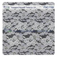 China Cotton Nylon Lace Fabric of Floral pattern for Fashion Garments, Wedding Dress wholesale