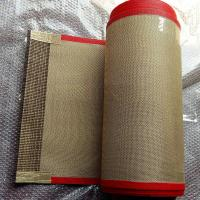 China Oven Liner Baking Mat Incline Conveyor Belt Lightweight 0.7 Mm Thickness on sale