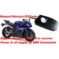 China Waterproof Motorcycle Mini GSM SMS GPRS GPS Tracker Locator W/ Cut-off Oil & Power By SMS wholesale