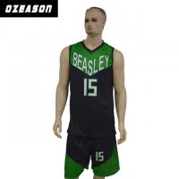 China Quick Dry Sublimated Printing Basketball Jersey with Custom Logo & Numbers wholesale