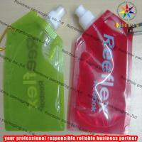 China Stand Up Spout Pouch Packaging With Metal Hook wholesale