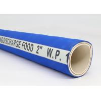 China Heavy Duty Rubber Fabric Braided Food Suction Delivery Rubber Hose on sale