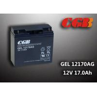 China GEL12170AG GEL Technical rechargeable lead acid battery 12vdc 17ah For Solar System on sale