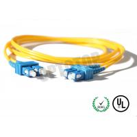 China 2.5m Single Mode Fiber Optic Patch Cord 2mm For LANs / Telecom , REACH Listed SC wholesale