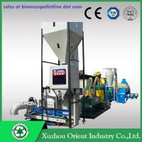China 700-1000KG/H Capacity Mobile Small Complete Biomass Pelleting Plant wholesale