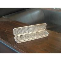 Fine mesh wire trays with lid