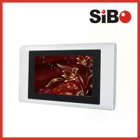 China 7 Inch Wall Surface Aluminum Android Touch Panel With Ethernet USB Host on sale