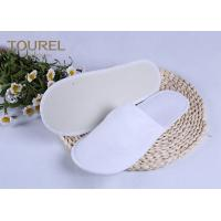 China 3mm EVA Nap Cloth Disposable Spa Slippers For Budget Hotel Bedroom Slippers wholesale