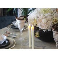 China Fashionable Led Taper Candles , Flameless Taper Candles With Remote wholesale