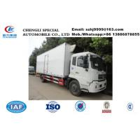 China whole sale best price dongfeng tianjin 4*2 LHD 15tons cold room truck, HOT SALE! bottom price dongfeng cold room truck on sale