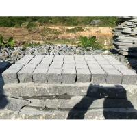 China Dark Grey Granite Paving Stones Exterior Decoration Eco - Friendly wholesale