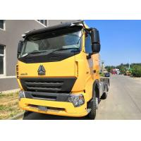 China 420 HP Horsepower Prime Mover Truck Euro 4 Standard 400L Fuel Tank Tractor Head wholesale