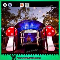 China Attractive 3m Inflatable Mushroom LED Lighting 190T Nylon For Engagement wholesale