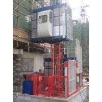 China 380V 50HZ / 60HZ Construction Material Hoists 1000KGS With Double Cage wholesale