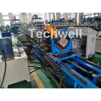 China 0-15m/Min Forming Speed Hat Channel Cold Forming Machine For Raw Material GI , Carbon Steel wholesale