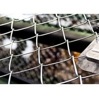 China 6m Standard Football Sports Fields Pvc Coated Gi Chain Link Fencing wholesale