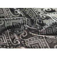 China Advanced Woven Fabric Recycled 50% Polyester With Non Woven fabric Backing Mattress Jacquard Fabric wholesale
