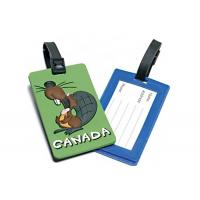 China Soft PVC Travel Hard Plastic Luggage Tags Top Grade Raw Materials Non Toxic wholesale