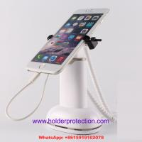 China COMER cell phone clip security retail display with alarm sensor and charger cable on sale