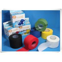 China Cotton Athletic Trainers Tape / Medical Adhesive Sport Injury Rigid Ankle Strapping Tape wholesale