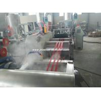 China Plastic PET Filament Making Machine For Rope New Market PLC Frequency Converter on sale