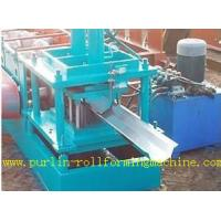 China Durable Seamless Gutter Machine , Water Gutter Making Equipment Former Line wholesale