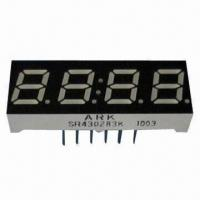 China 0.28 Inch 7 Segment Numeric LED Display in Four-Digit, Used for Home Electronic Appliance wholesale