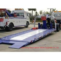 China DFAC Light Duty Breakdown Recovery Truck With Power Steering Hydraulic Control wholesale